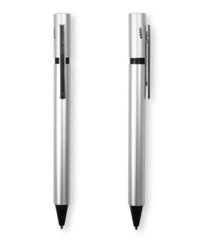 Lamy Pur Silver Ballpoint Pen