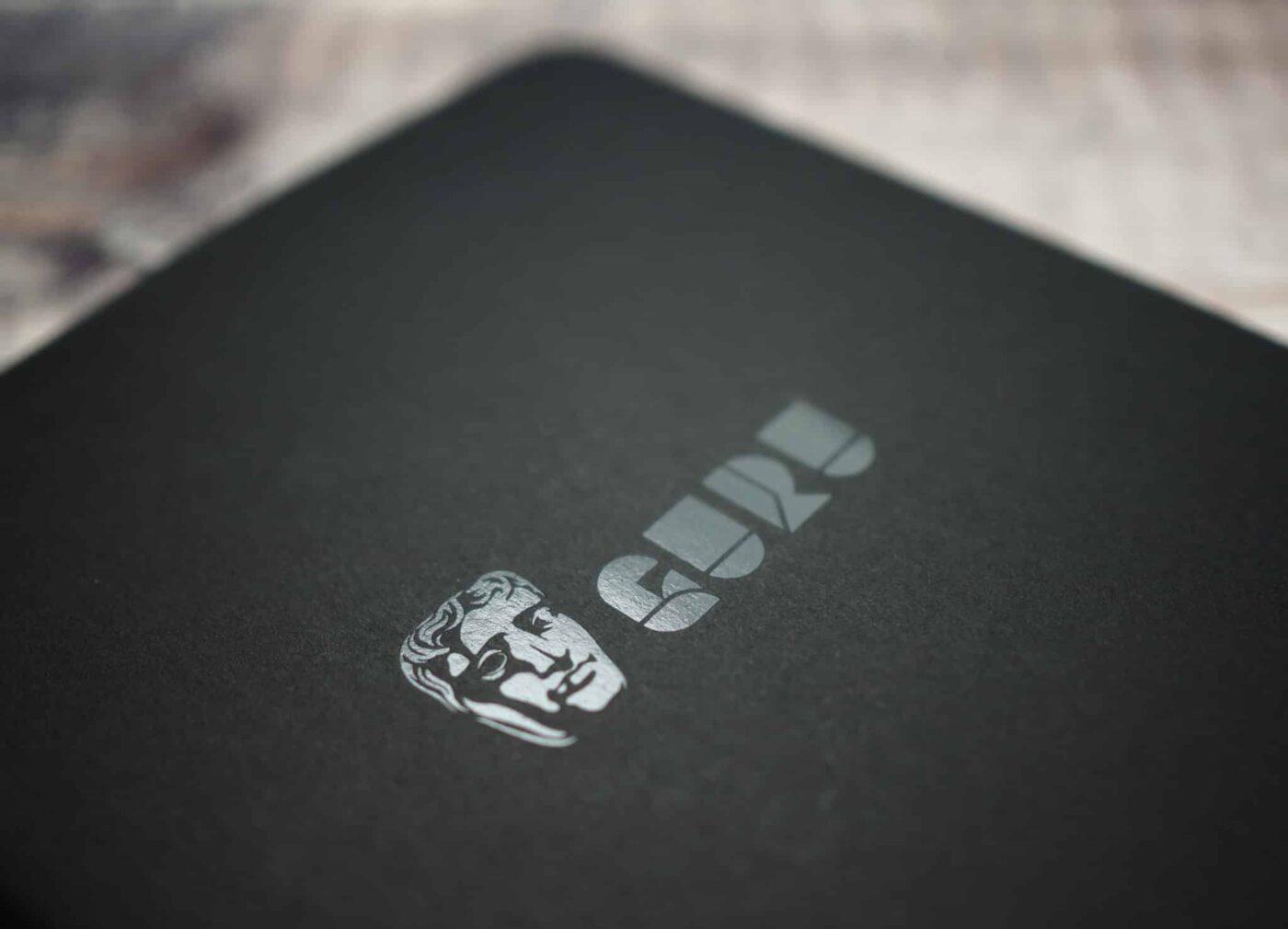 Bafta-Guru-foiled-Moleskin-Cahier-notebook