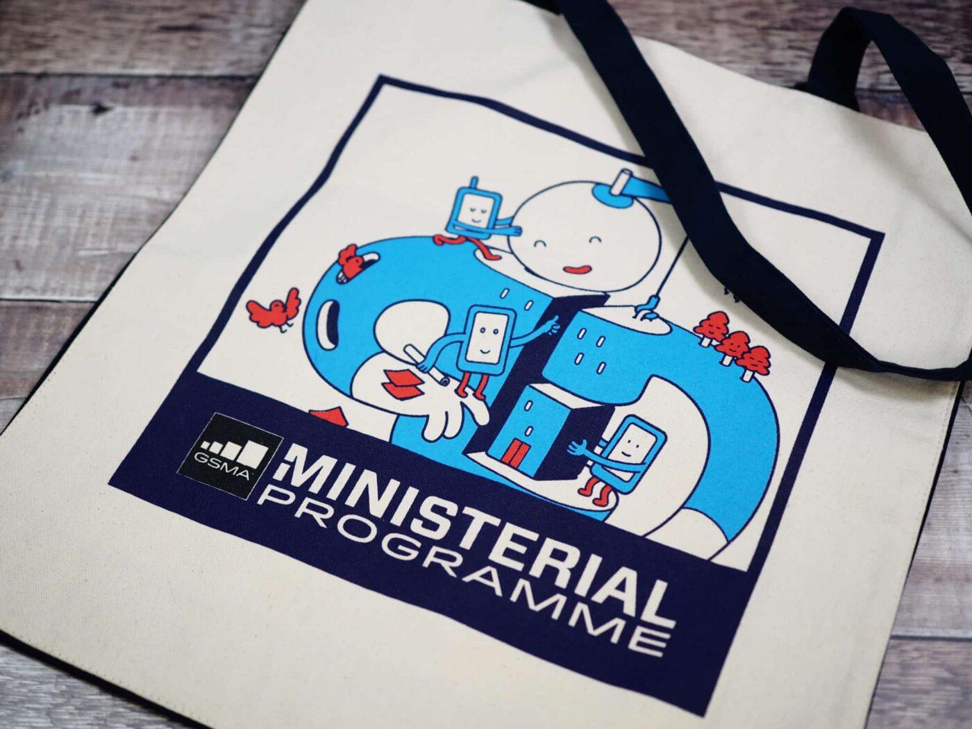 Four-colour-screenprinted-tote-bag-GSMA