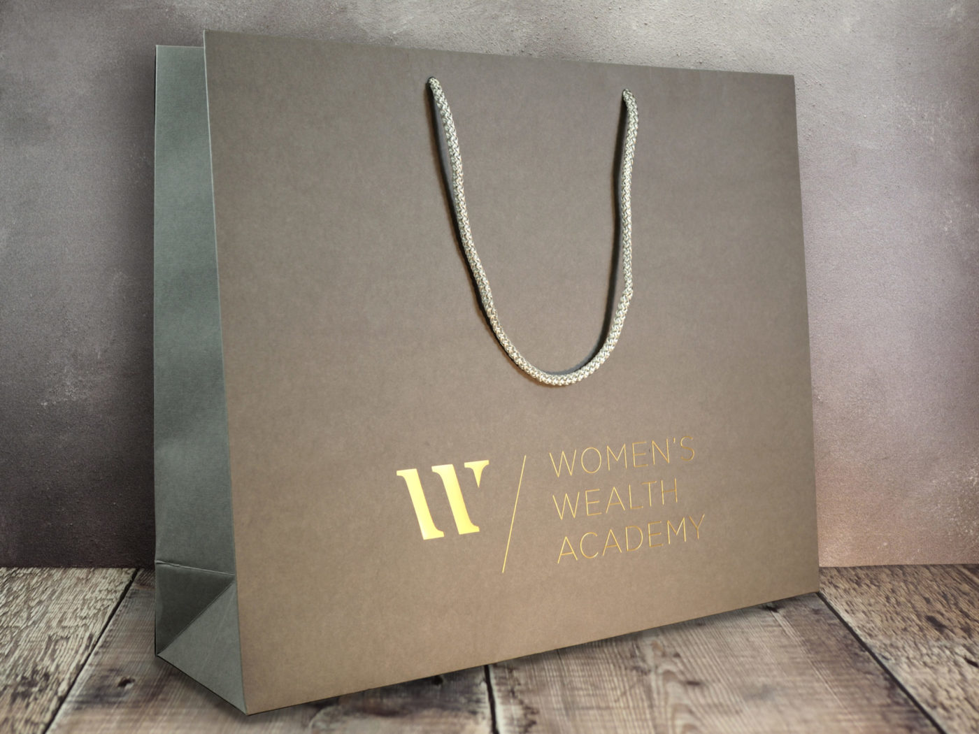 luxury-foiled-gift-bag-Womens Wealth Academy