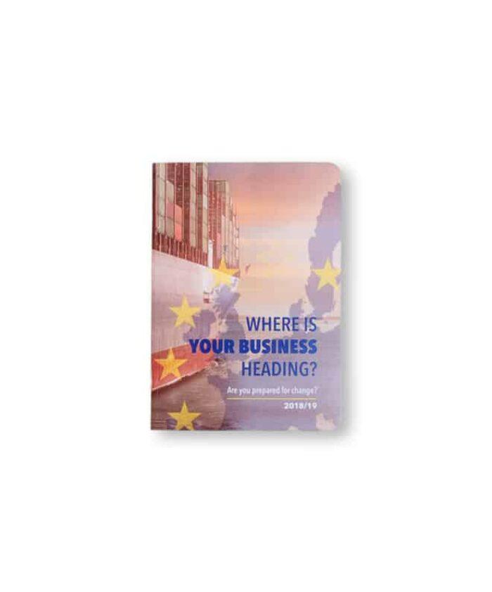 A6 Printed Custom Card Notebook