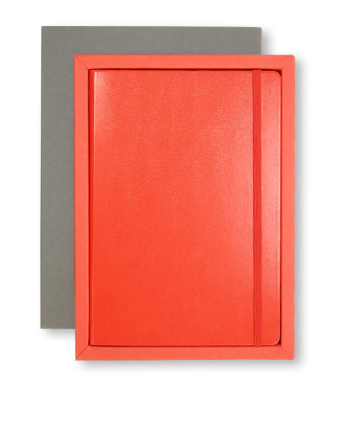 A5 Grey/Red Leuchtturm1917 Slip Case