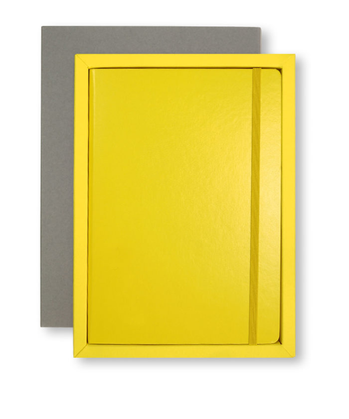 A5 Grey/Yellow Leuchtturm1917 Slip Case
