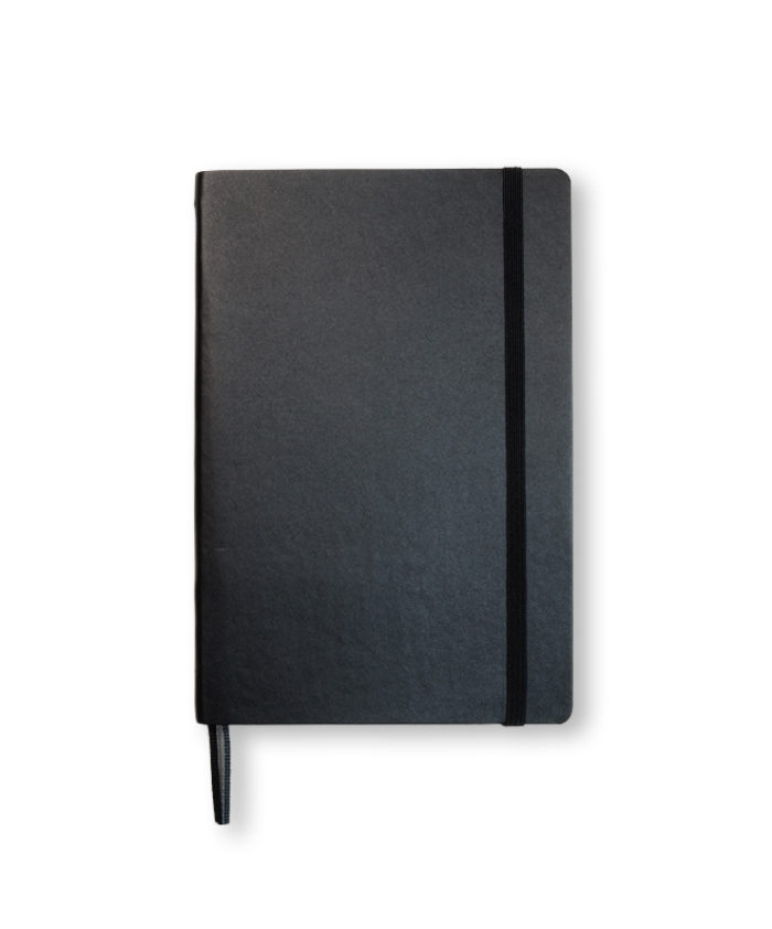 B6+ Black softcover notebook