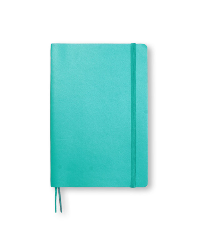 B6+ Emerald softcover notebook