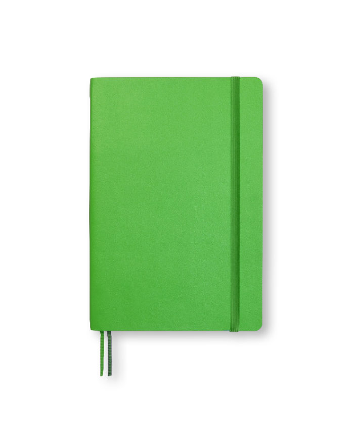 B6+ Fresh Green softcover notebook