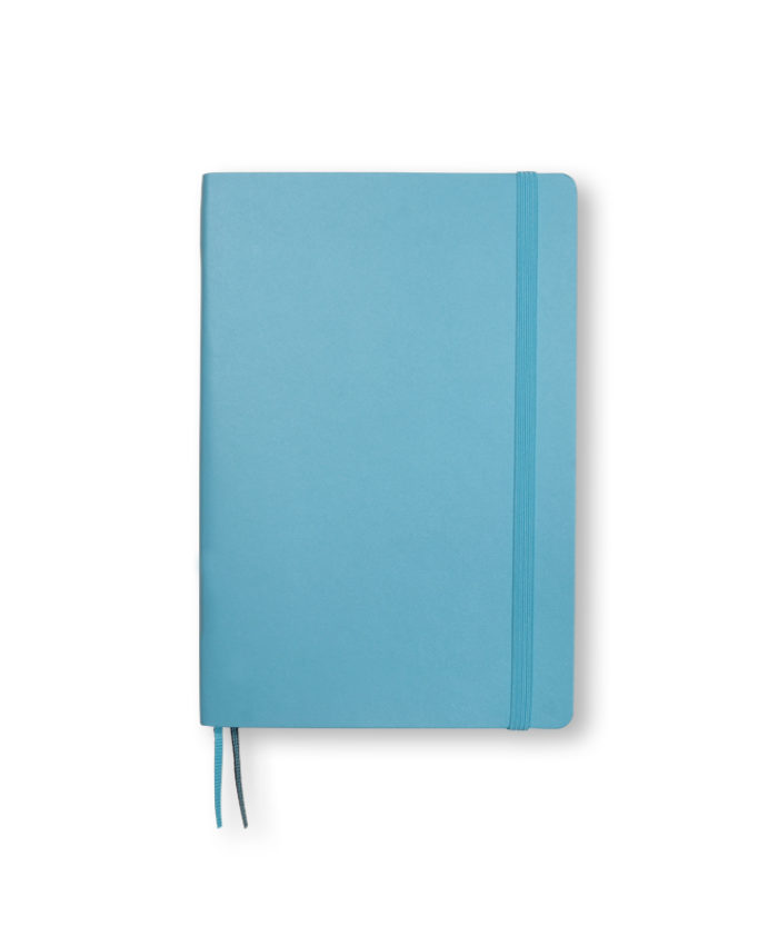 B6+ Ice Blue softcover notebook