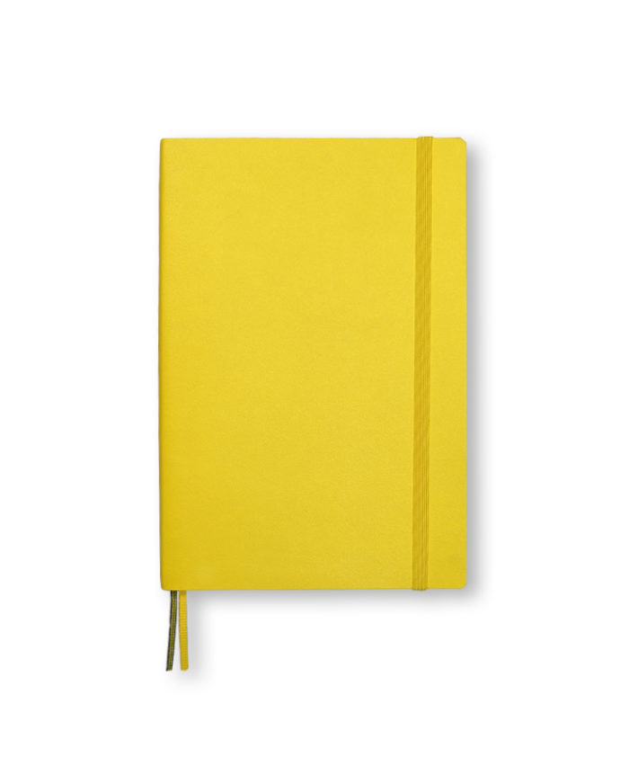 B6+ Lemon softcover notebook