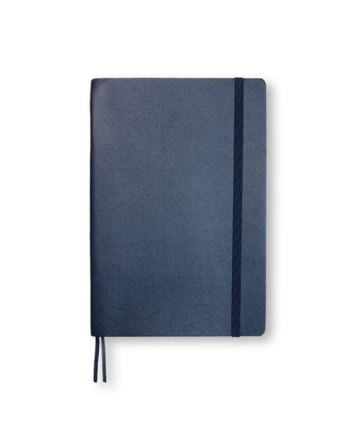 B6+ Navy softcover notebook