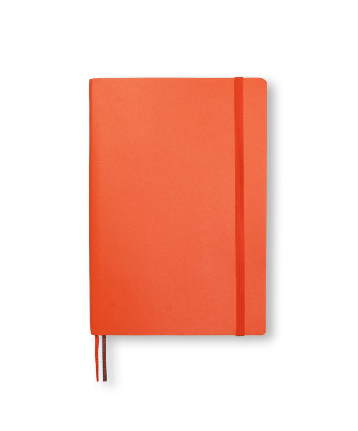 B6+ Orange softcover notebook