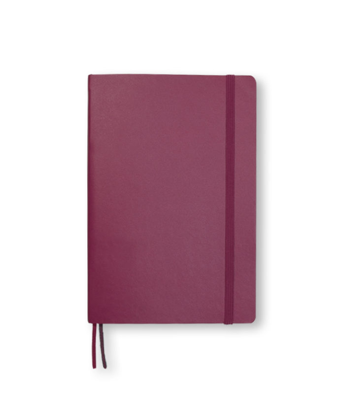B6+ Port Red softcover notebook