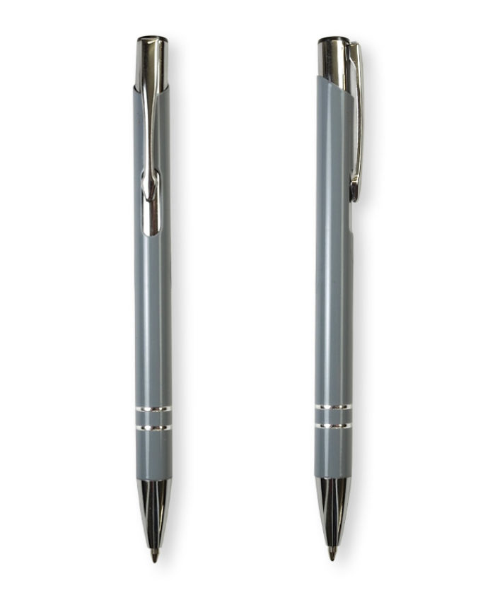 Grey Deck ballpoint pen