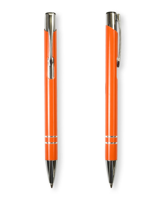 Orange Deck ballpoint pen