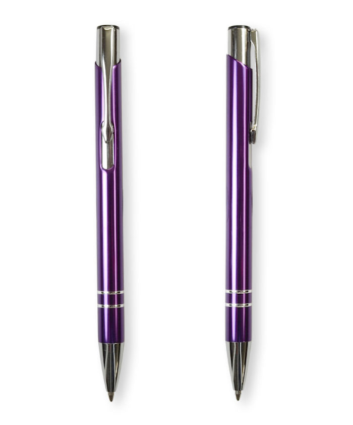 Purple Deck ballpoint pen