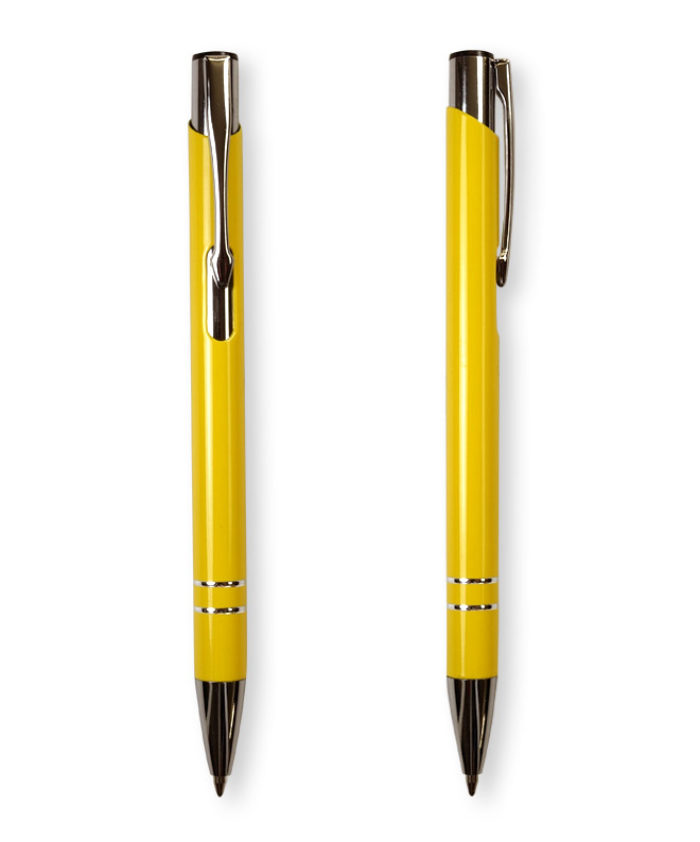 Yellow Deck ballpoint pen