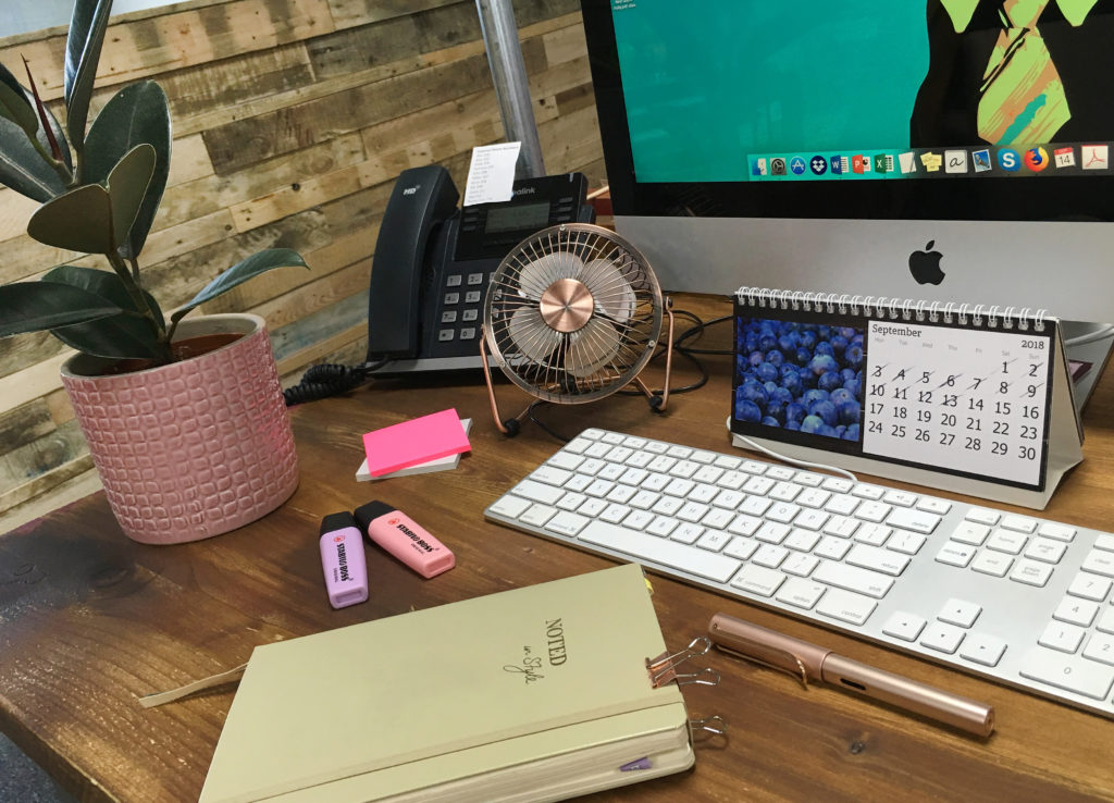 Holly-in-sales-desk-accessories-rose-gold