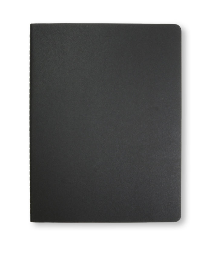 A4 Black Moleskine Cahier journal