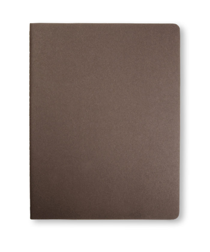 A4 Coffee Brown Moleskine Cahier journal