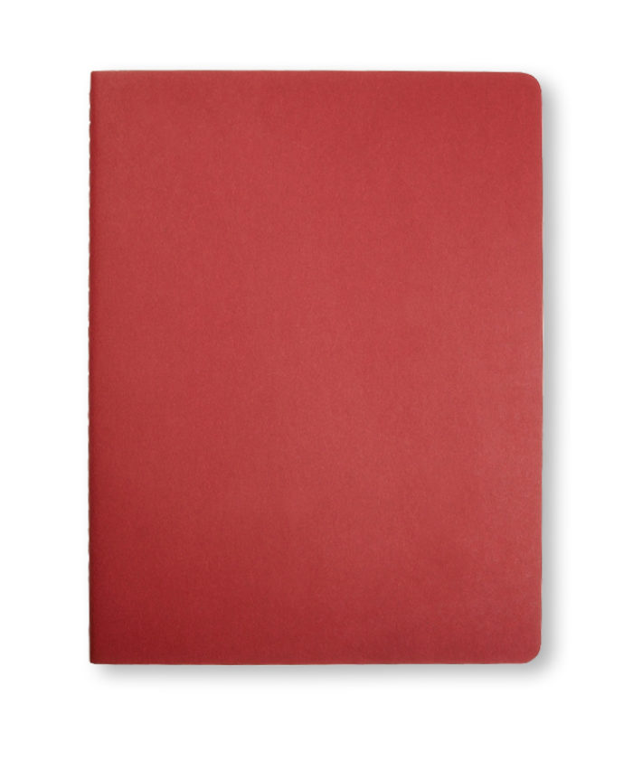 A4 Cranberry Moleskine Cahier journal