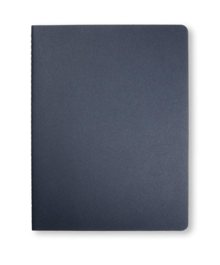 A4 Indigo Blue Moleskine Cahier journal