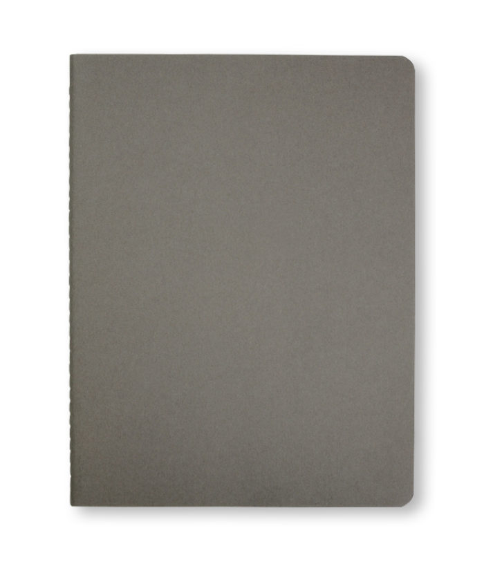 A4 Pebble Grey Moleskine Cahier journal