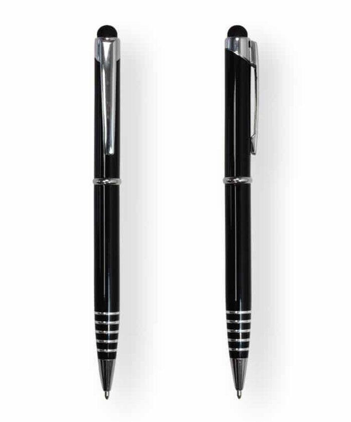 Black FX Stylus Ballpoint Pen