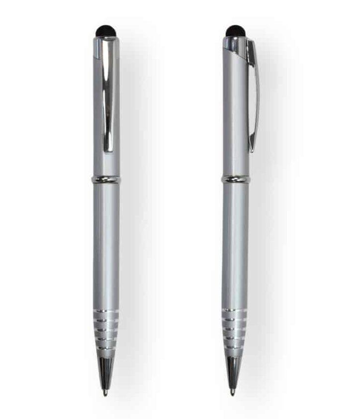 Silver FX Stylus Ballpoint Pen