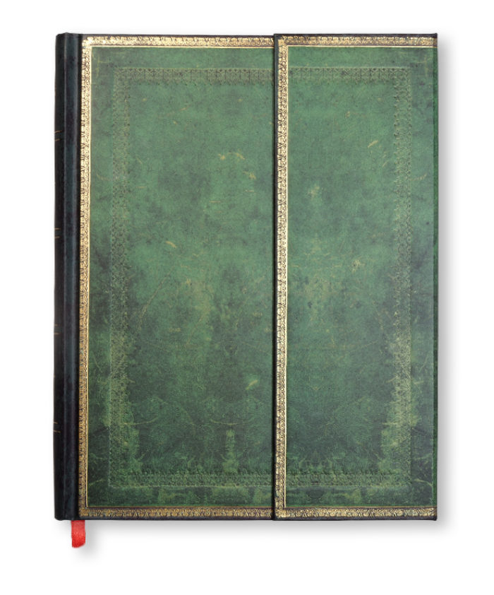 Ultra Jade Old Leather Paperblanks Notebook