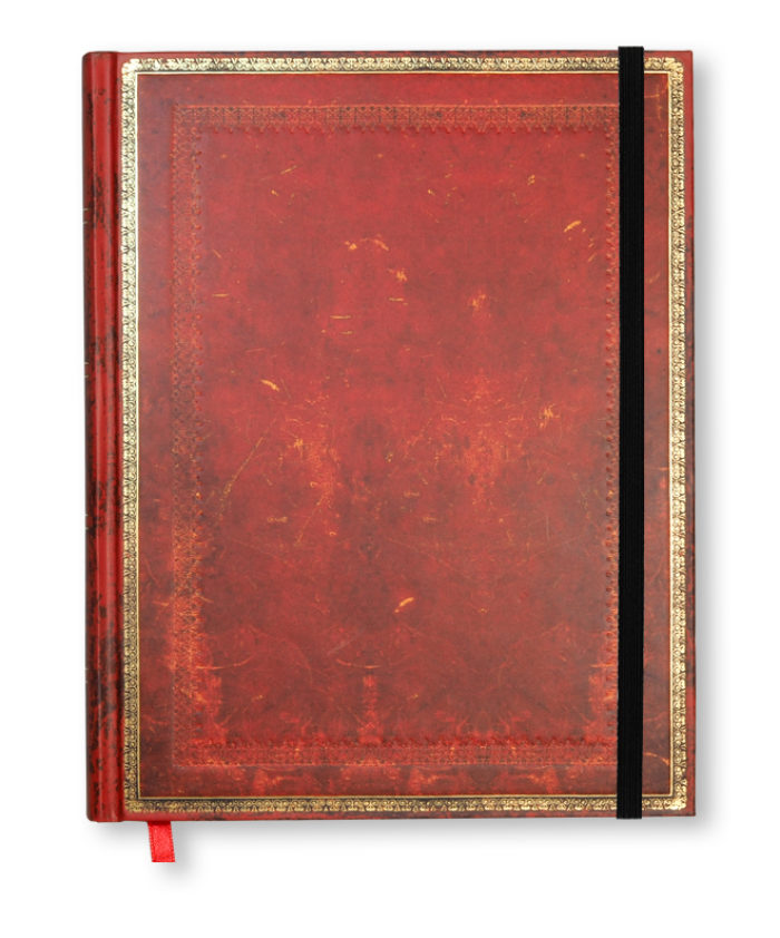 Ultra Vinitian Red Old Leather Paperblanks Notebook