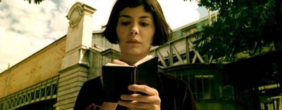 Amélie The Devil Wears Prada Sherlock Holmes Moleskine softcover Moleskine notebook on-screen sightings