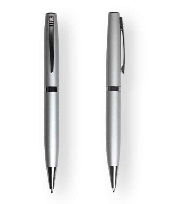 Silver Racer ballpoint pen