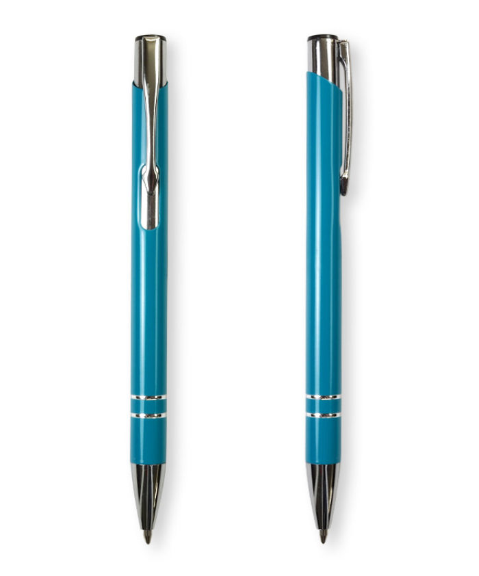 Teal Deck ballpoint pen