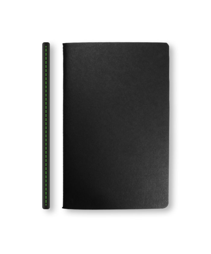 Green Stitch Castelli Singer Sewn Notebook