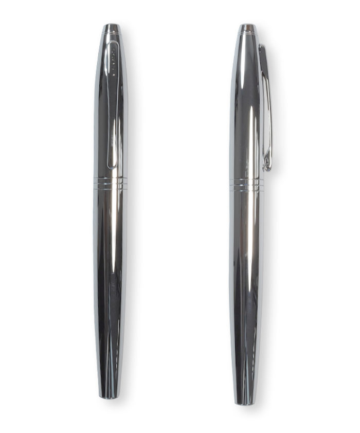 Cross Calais Fountain Pen in Polished Chrome
