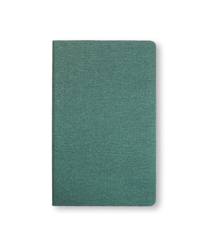Castelli Nature notebook in green