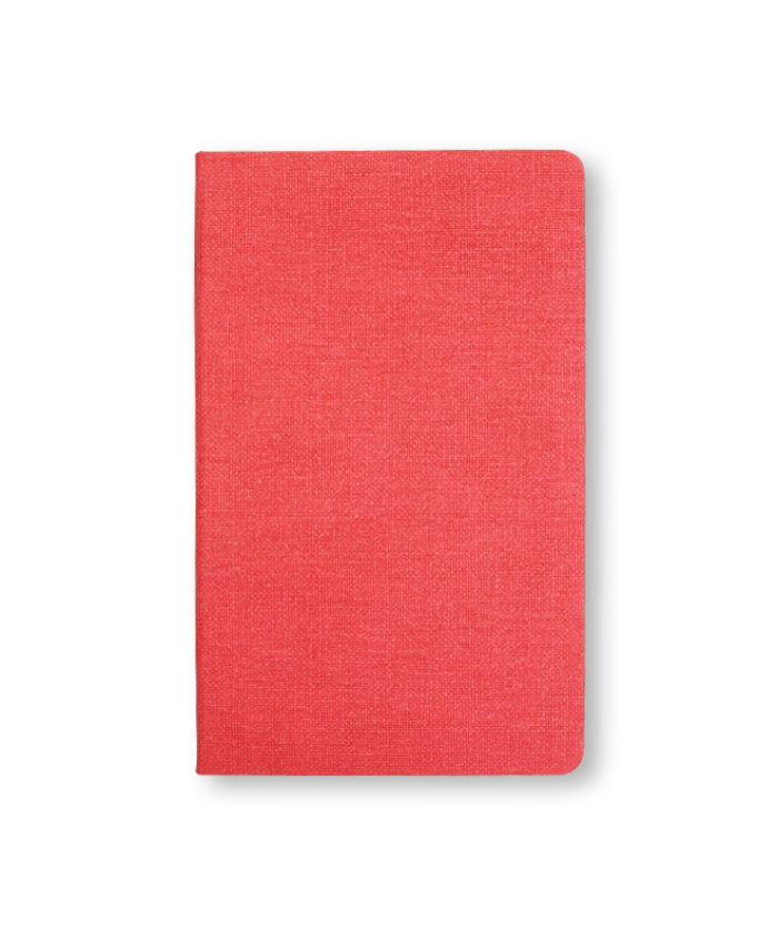 Castelli Nature notebook in red