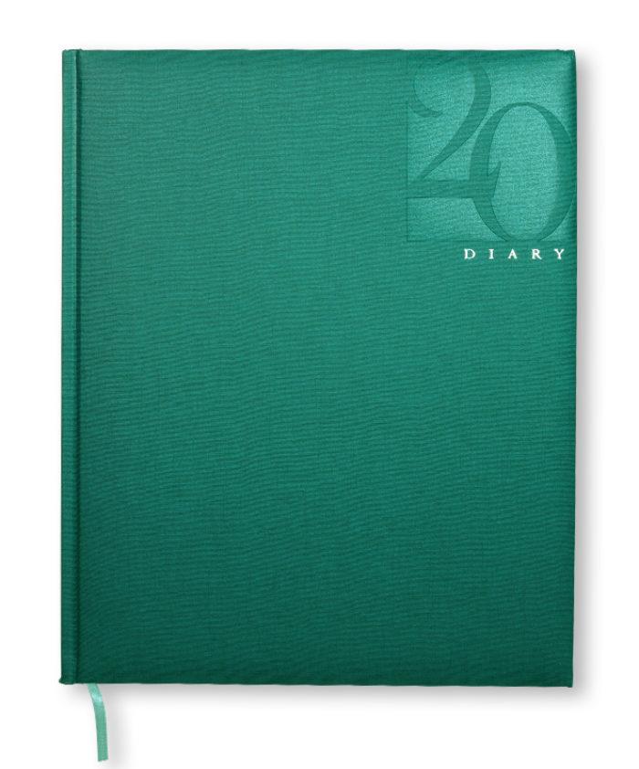 Green Castelli B5 Caribe Weekly Diary