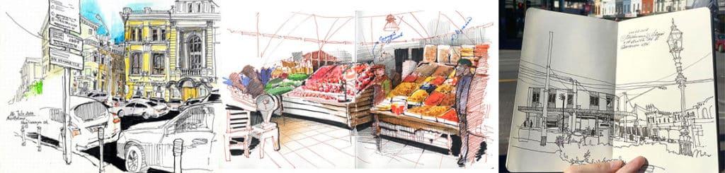 Alena Kudriashova sketches