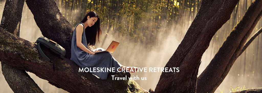 Unsettled Moleskine retreats